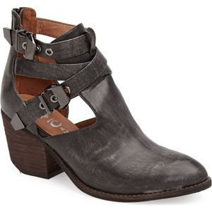 Jeffrey Campbell Everwell washed black boot 8
